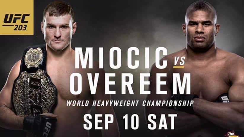 UFC 203: Miocic vs. Overeem 1