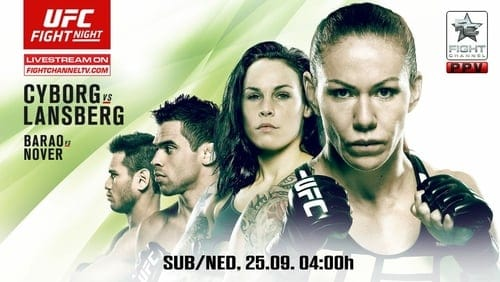 UFC Fight Night: Cyborg vs. Lansberg 1