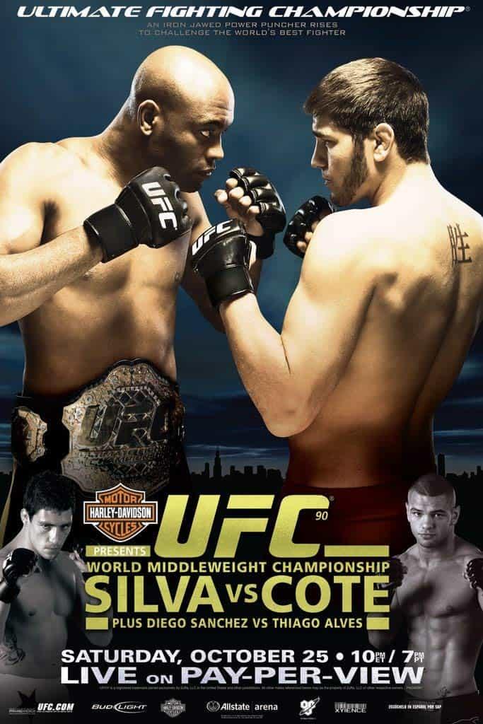 UFC 90: Silva vs. Côté 1