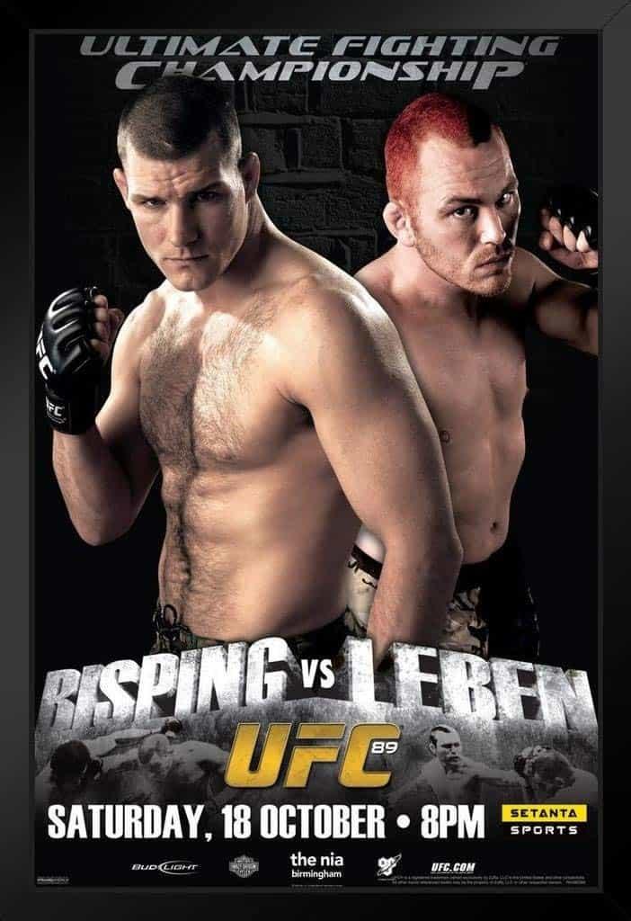 UFC 89: Bisping vs. Leben 1