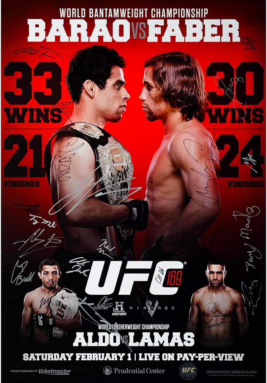 UFC 169: Barão vs. Faber II 1