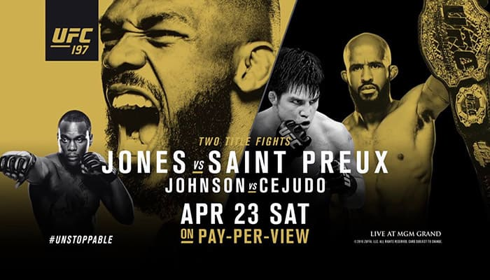 UFC 197: Jones vs. Saint Preux 1