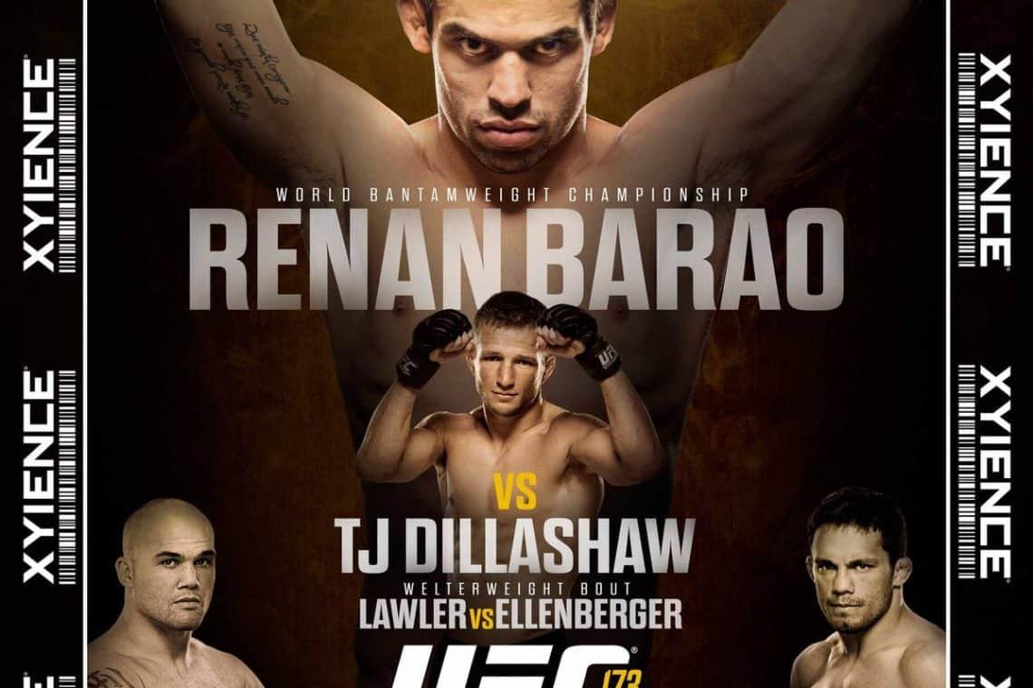 UFC 173: Barão vs. Dillashaw 1