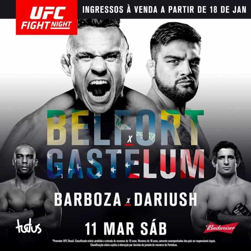 UFC Fight Night: Belfort vs. Gastelum 1