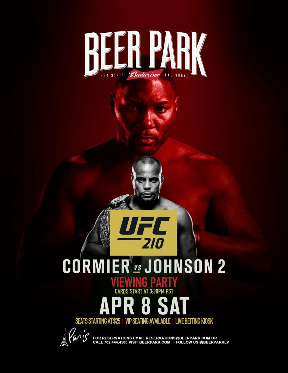 UFC 210: Cormier vs. Johnson 2 1