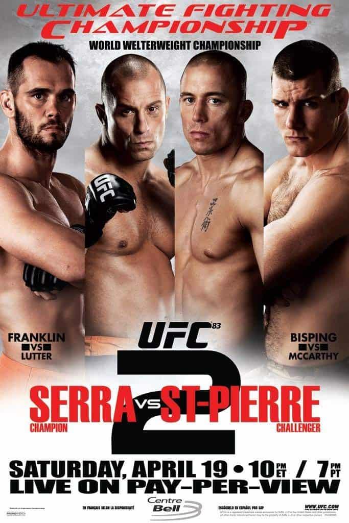 UFC 83: Serra vs. St-Pierre 2 1