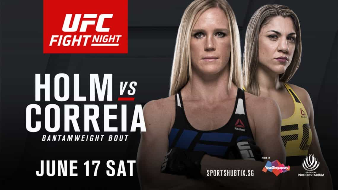 UFC Fight Night: Holm vs. Correia 1