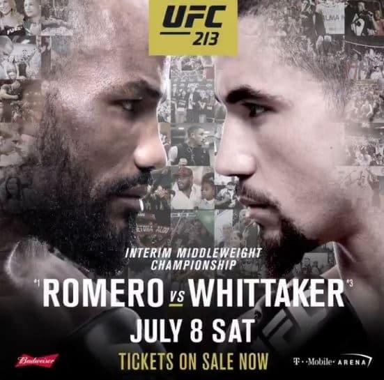 UFC 213: Romero vs. Whittaker 1