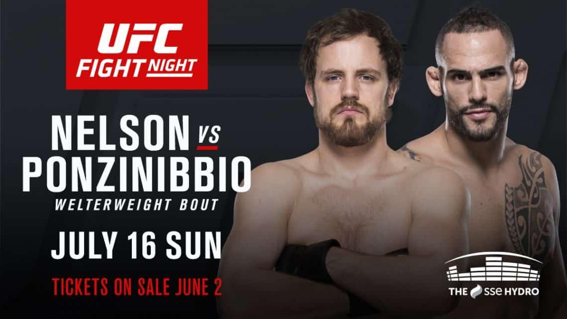 UFC Fight Night: Nelson vs. Ponzinibbio 1