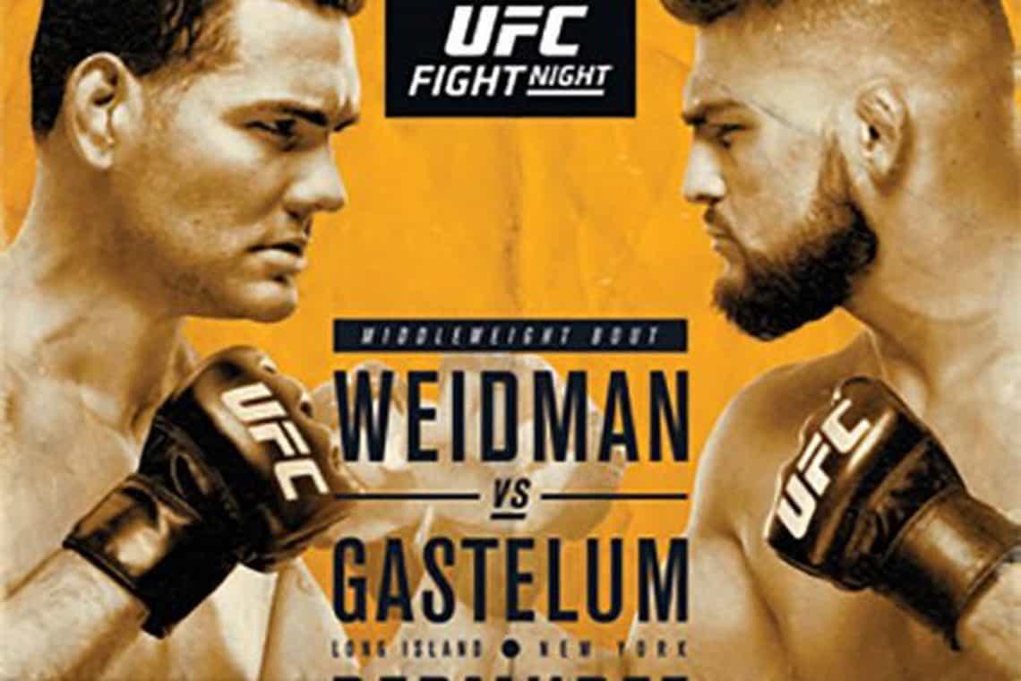 UFC on Fox: Weidman vs. Gastelum 1