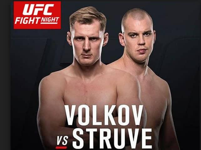UFC Fight Night: Volkov vs. Struve 1