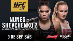 UFC 215: Nunes vs. Shevchenko 2 2