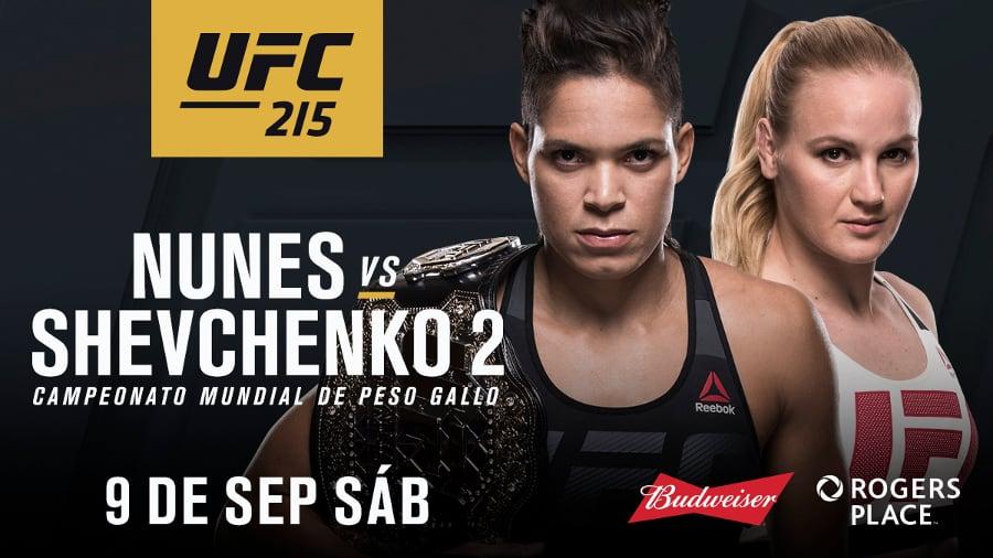 UFC 215: Nunes vs. Shevchenko 2 1