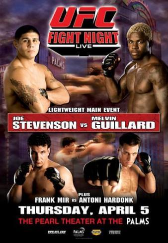 UFC Fight Night: Stevenson vs. Guillard 1