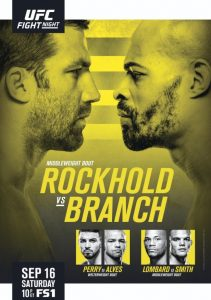UFC Fight Night: Rockhold vs. Branch 2