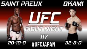 UFC Fight Night: Saint Preux vs. Okami 2