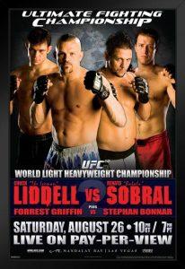 UFC 62: Liddell vs. Sobral 2
