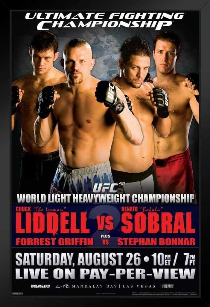 UFC 62: Liddell vs. Sobral 1
