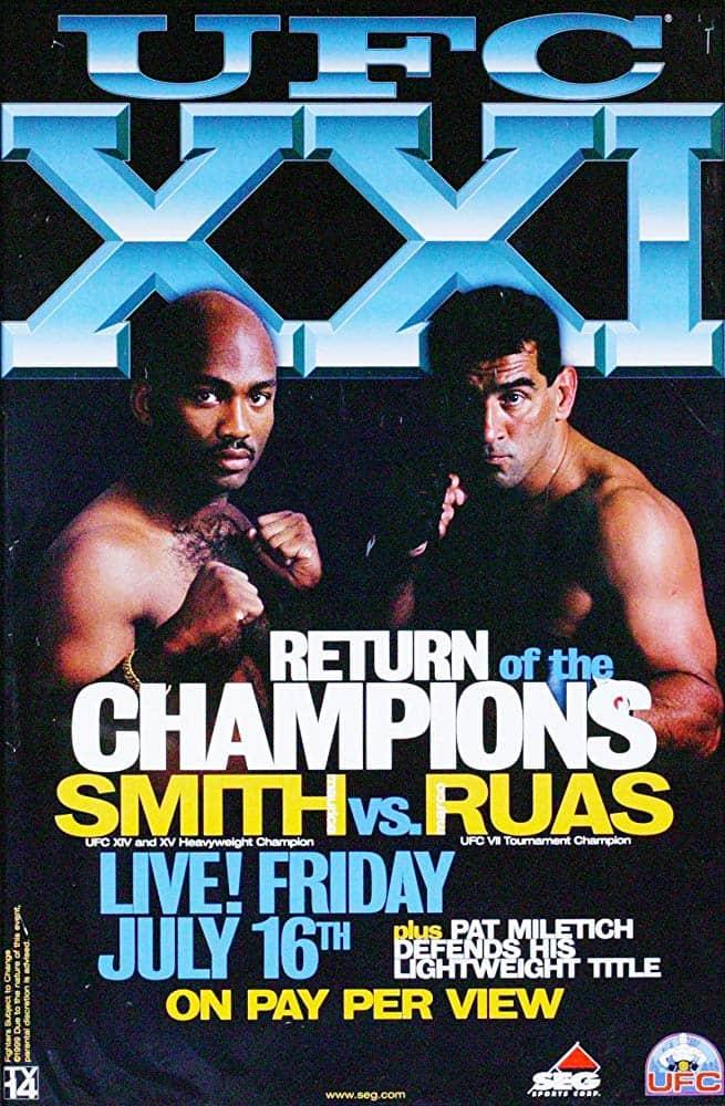 UFC 21: Return of the Champions 1
