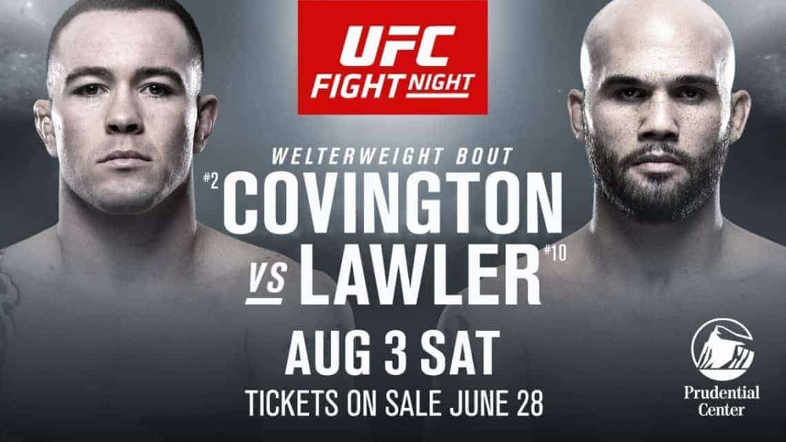 UFC on ESPN: Covington vs. Lawler 1