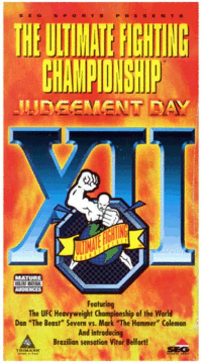 UFC 12: Judgement Day 1