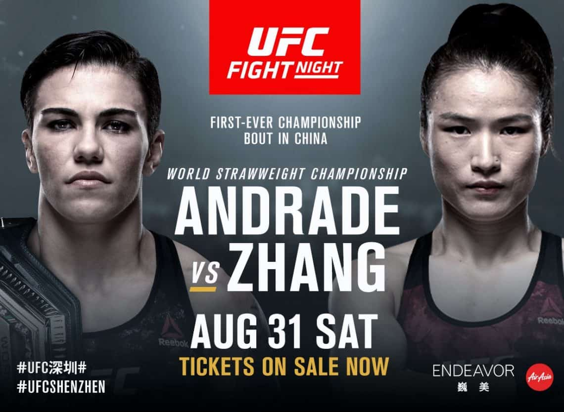 UFC Fight Night: Andrade vs. Zhang 1