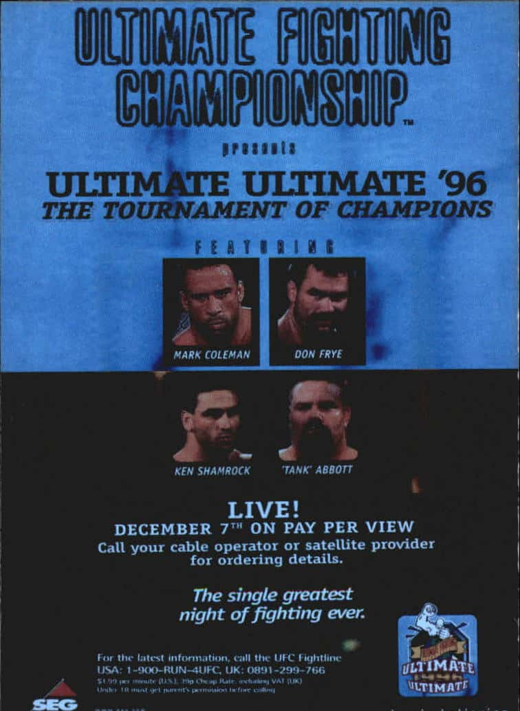 UFC: The Ultimate Ultimate 2 1