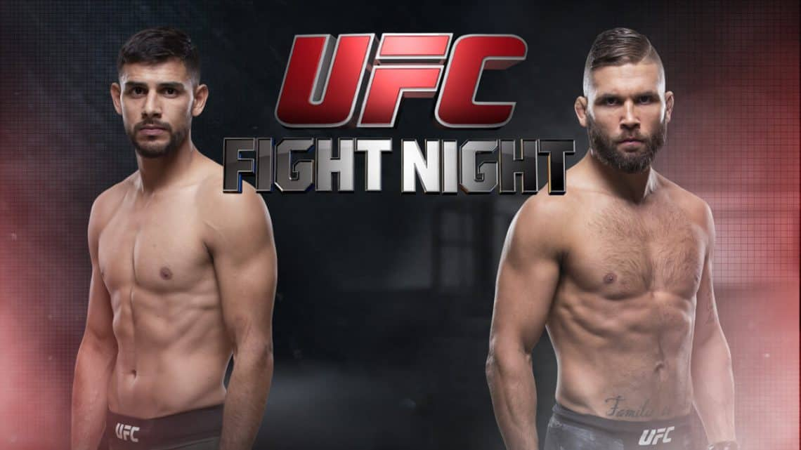 UFC Fight Night: Rodríguez vs. Stephens 1