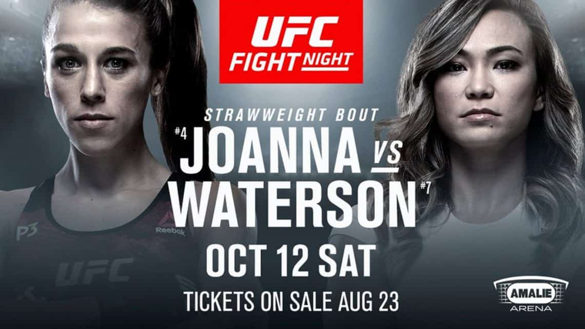 UFC Fight Night: Joanna vs. Waterson 1