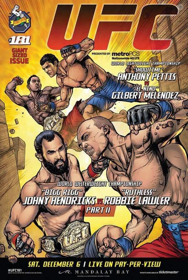 UFC 181: Hendricks vs. Lawler II 1