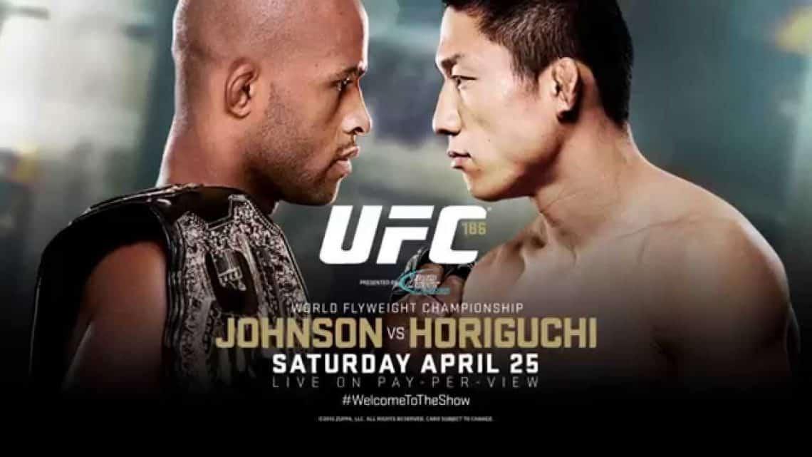 UFC 186: Johnson vs. Horiguchi 1