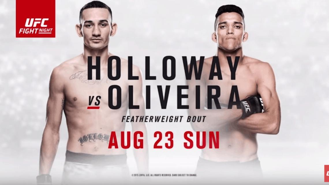 UFC Fight Night: Holloway vs. Oliveira 1