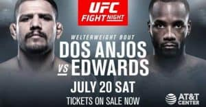 UFC on ESPN: dos Anjos vs. Edwards 2