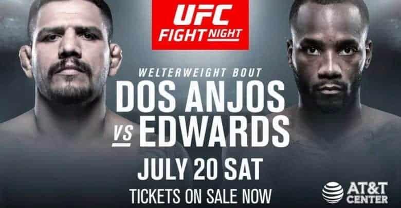 UFC on ESPN: dos Anjos vs. Edwards 1