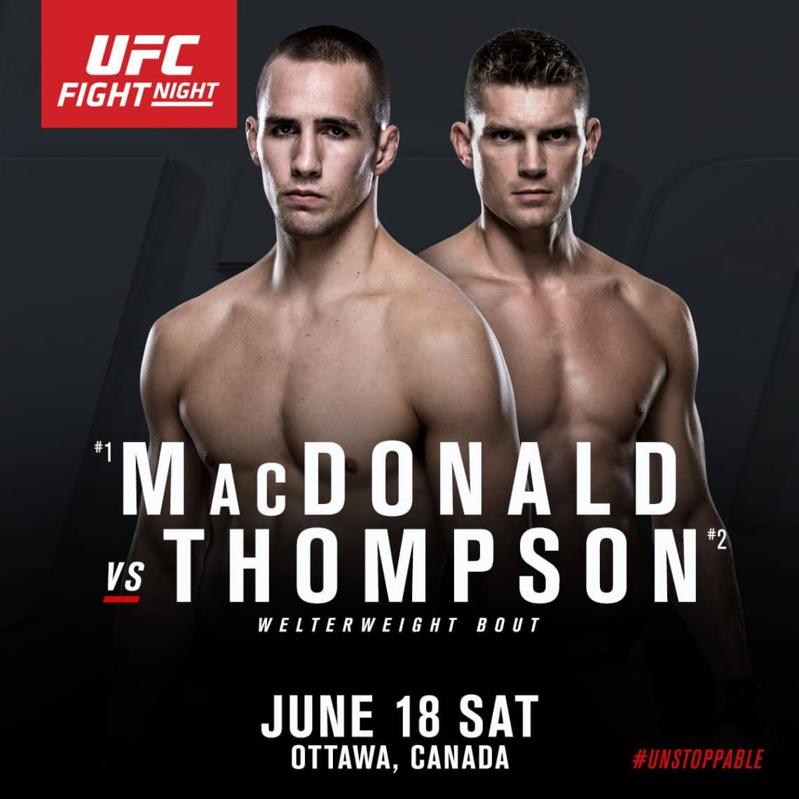 UFC Fight Night: MacDonald vs. Thompson 1