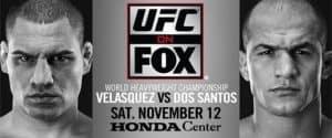 UFC on Fox: Velasquez vs. dos Santos 2