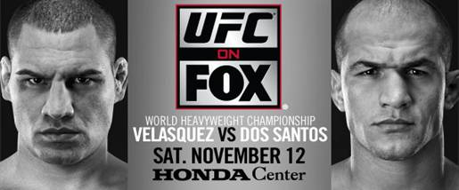 UFC on Fox: Velasquez vs. dos Santos 1