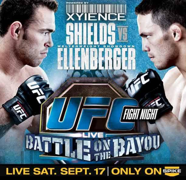 UFC Fight Night: Shields vs. Ellenberger 1