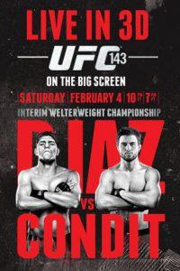 UFC 143: Diaz vs. Condit 2