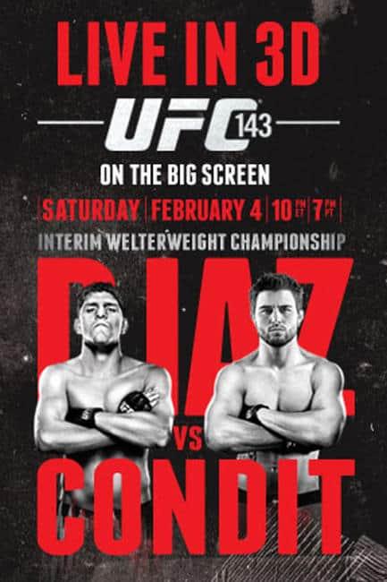 UFC 143: Diaz vs. Condit 1