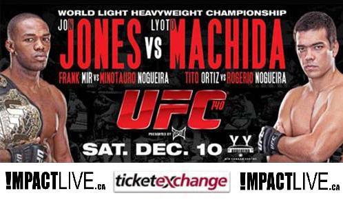 UFC 140: Jones vs. Machida 1