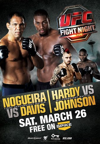 UFC Fight Night: Nogueira vs. Davis 1