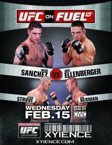 UFC on Fuel TV: Sanchez vs. Ellenberger 2