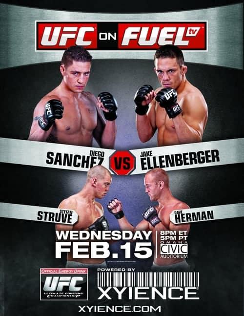 UFC on Fuel TV: Sanchez vs. Ellenberger 1