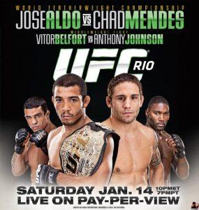 UFC 142: Aldo vs. Mendes 2