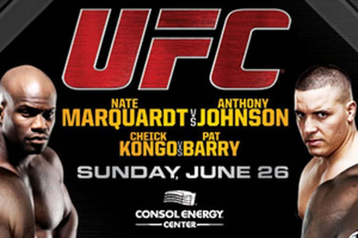 UFC Live: Kongo vs. Barry 1