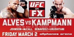 UFC on FX: Alves vs. Kampmann 2