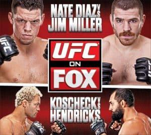 UFC on Fox: Diaz vs. Miller 2