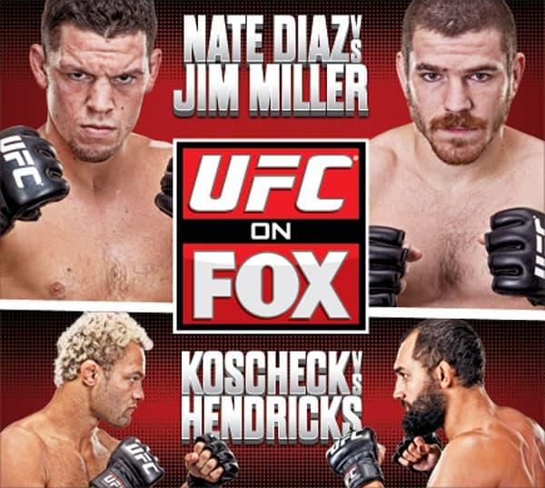 UFC on Fox: Diaz vs. Miller 1