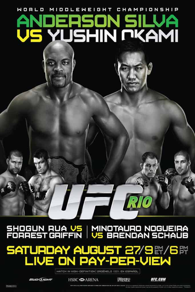 UFC 134: Silva vs. Okami 1